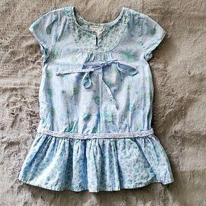 Naartjie Blue Printed Cotton Dress 2